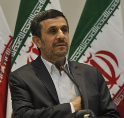 Ahmadinejad at the United Nations Conference on Sustainable Development in 2012