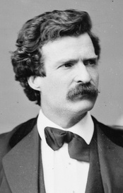 Mark Twain was a prominent American author in multiple genres including fiction and journalism during the 19th century.