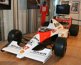 The McLaren MP4/5B raced by Senna in 1990.