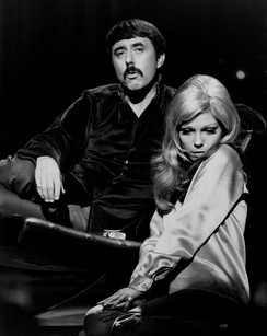Lee Hazlewood and Nancy Sinatra, 1968