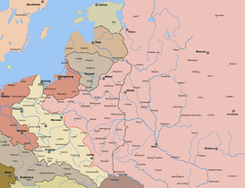 Soviet offensive successes. Early August 1920
