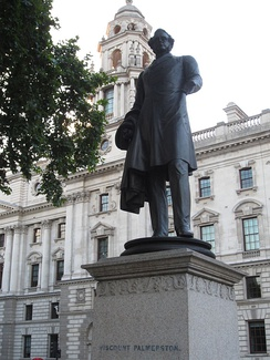 Lord Palmerston, then British Foreign Secretary, evicted some 2,000 of his tenants.