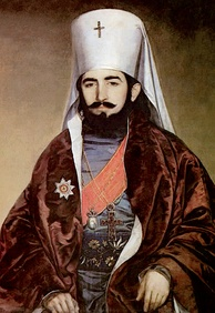Petar II Petrović-Njegoš, was a Prince-Bishop (vladika) of Montenegro and Montenegrin national poet and philosopher.
