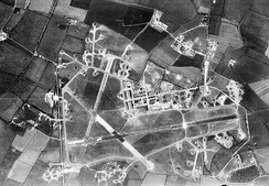 Aerial photograph of RAF Molesworth, 9 May 1944