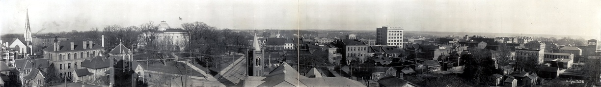 Downtown Raleigh panorama, from 1909
