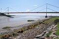 River Wye estuary and M48 Wye road bridge