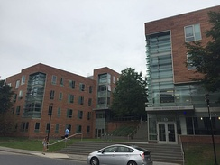 Sophia Gordon Hall (2006) is Tufts' newest residence hall