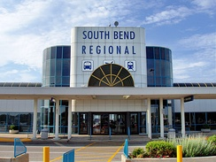 South Bend Regional Airport in 2005; since renamed to South Bend International Airport.