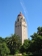 Hoover Tower, at 285 feet (87 m), the tallest building on campus