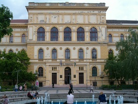 The main building of the University of Szeged