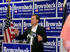 Senator Brownback officially opening his Iowa campaign headquarters in West Des Moines, IA