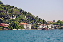 Yalı houses on the Bosporus are among the frequently used settings in Turkish television dramas (dizi).
