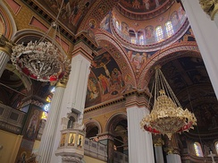 Interior of Agios Minas Cathedral, Heraklion