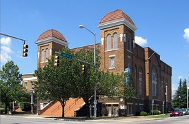 16th Street Baptist Church (1911) in Birmingham, Alabama, added in 1980, received in 2006 a Save America's Treasures Grant.[22]
