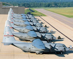164th Airlift Squadron C-130 Hercules