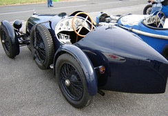 Rear view of 1927 B.N.C. 527