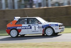 1993 Lancia Delta HF Integrale at the 2006 Goodwood Festival of Speed