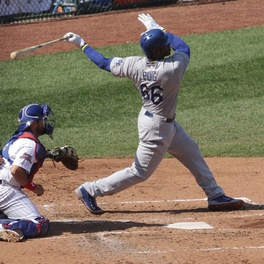 Yasiel Puig was a perfect 4-for-4 with a homer on June 10.