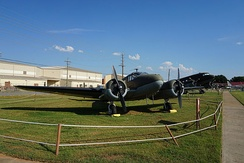 C-45F at the Barksdale Global Power Museum