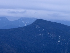 View of Big Slide Mountain from Cascade Mountain in the Adirondack High Peaks region.