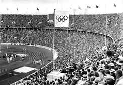 The 1936 Summer Olympics in Berlin – a great propaganda success for the Nazi regime