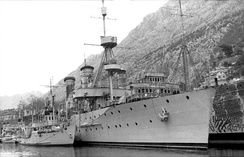 Captured ships of the Yugoslavian Navy, Bay of Kotor 1941.