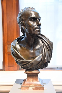 Bust of Claude-Joseph Vernet, 1783, by Louis-Simon Boizot, the Victoria and Albert Museum, London