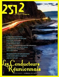 Cover of 2512, a monthly newsmagazine published in Réunion.