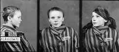 Czesława Kwoka, one of many Polish children murdered in Auschwitz by the Nazis