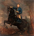 Equestrian portrait of Charles XII