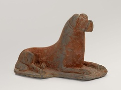 Dog with mastiff features, China, 4th century, Brooklyn Museum