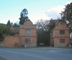 North-east lodges and gates to Aldermaston Court