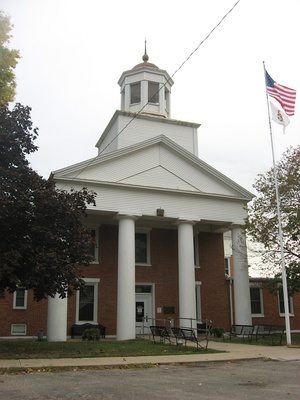 Henderson County Courthouse, Oquawka