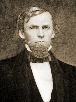 Photograph of Hindman, c. 1854