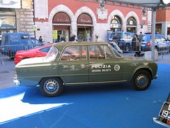 "Italian State Police Flying Squad ""Panther"" 1971 Alfa Giulia Super"