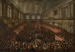 The Great Sejm and Senate of the Polish–Lithuanian Commonwealth adopted Constitution of 3 May 1791, which is claimed to be the second oldest constitution in the world after the U.S. Constitution