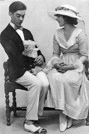 Gregory Kelly and Ruth Gordon in the Broadway production of Seventeen (1918)