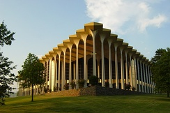 The Graduate Center houses Oral Roberts University's graduate college.