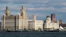 Liverpool Pier Head and Liverpool Cruise Terminal