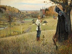 The Vision of the Youth Bartholomew, 1890–91