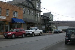 Downtown Millerton, the main village in North East