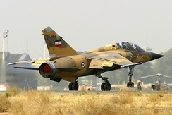 Iranian Air Force Mirage F1BQ