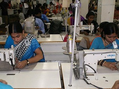 Women make up most of the workforce of Bangladesh's export oriented garment industry that makes the highest contribution to the country's economic growth.[367]