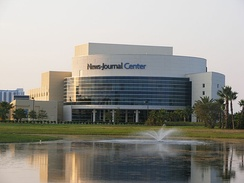 The News-Journal Center in Daytona Beach