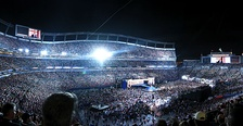 84,000 people filled in Invesco Field for Barack Obama's acceptance speech.