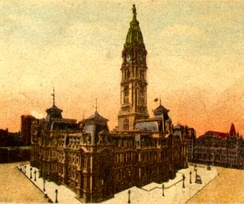City Hall from postcard, c. 1900