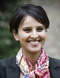 The minister Najat Vallaud-Belkacem in June 2012