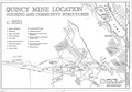 Quincy Mine plan created by the HAER, National Park Service, Department of the Interior.