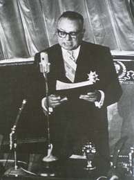 Romulo Betancourt's inaugural address in 1959