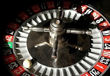 The ball in a roulette can be used as a source of apparent randomness, because its behavior is very sensitive to the initial conditions.